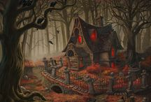Pumpkin Diorama Reference / by Kimbooly's Spooklings