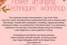 Chirpees' Floristry School / We are a Sussex (UK) based Floristry school, providing practical floristry workshops at different venues. Steph, the tutor at Chirpee's Floristry School, is a Master florist and Chelsea Gold Medal winner! So you will have expert tuition and individual help at our workshops.  We also have an International online school with over 500 students worldwide, on Open learning.  A FREE Taster course is available for you to try, no obligation just as a gift! Contact chirpeeflowers@gmail to learn more.