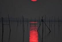 moon stars& the sun