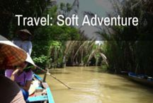 Travel: Soft Adventure / Soft Adventure (Adventure rating 1 & 2 Stars)  These are the day trips, the easy hikes, the small steps to adventure you can take with very little effort. You don't even have to travel outside of your home country to enjoy some of these, but it's highly encouraged.  Soft adventure is exactly as it sounds. Soft, cuddly, warm and fuzzy, but enough to give you that feeling of having achieved something.