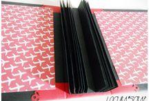 Scrapbook - enquadernació / Maneres d'enquadernar àlbums