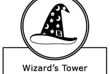 Wizard's Tower / Photos, sound effects, recipes, costumes, props, and other links  related to the Adventure Scents Wizard's Tower product.  www.adventurescents.com