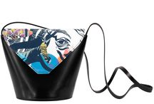 My Mama's Bag - For I Love Horses / Women Leather Handbags, Limited Edition Designer Leather Bag COLOURS OF MY LIFE - Limited Edition wearable art signed by Anca Stefanescu.