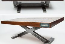 мебель с металлом