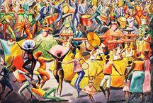 Pinturas com o tema: Carnaval