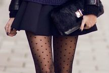 Skirt and tights