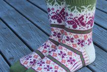 Perhos kukka sukat