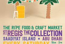 Ripe Market, The Collection, St Regis Abu Dhabi / The Ripe Food & Craft Market is rolling into Abu Dhabi this November!  We're launching the first Ripe Food & Craft Market in the city, at The Collection, St Regis on Saddiyat Island on the 15th November and you can find us there every Saturday from 10am til 2pm.   Pick up delicious, local, organic, seasonal produce from Ripe and shop til you drop thanks to our fantastic range of vendors offering everything from art, crafts, jewellery, fashion and gifts.   Abu Dhabi we're coming for you!