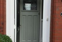 Front door/exterior paintwork
