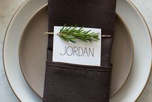Placecard Inspiration