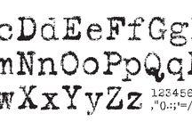 - Fonts -