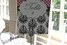 Table Numbers / by Jeannette Moore
