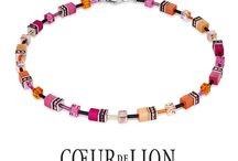 GEO CUBE Jewellery Spring Summer / A design classic, COEUR DE LION Geo Cubes are Carola Eckrodt's signature collection. Geo Cubes feature clean lines and beautifully nuanced colours. This design is now regarded as a German classic and is prized by women all over the world offering an array of exciting on trend colour combinations.