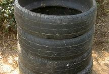 Uses for old tyres