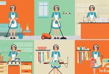 Как убраться дома