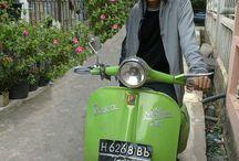 My Scooter Love / Dokumentasi vespaku, aku dan perjalanan