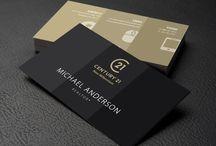 Century 21 Logo & Branding Update / New Century 21 Business Card Designs using the updated C21 Logo