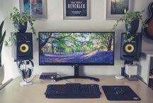 Setups and gaming things