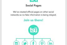 Tsü / Tsū is a free social network and payment platform that shares up to 90% of revenues with its users. You can find the invitation link on my pictures ! Join, and become a member of Tsu !