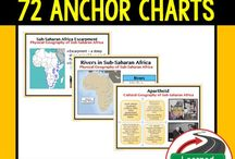 World Geography Anchor Charts