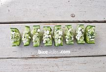 Appetizers / Cucumber boats