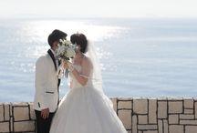 リゾートフォトウエディング | カリコリゾート / 関西を代表する海浜リゾート地として名高い淡路島。 カリコリゾートは、この淡路島の南西端にある岬の高台にあります。 #フォトウエディング #エンゲージフォト #アニバーサリーフォト #写真だけの結婚式 #前撮り #別撮り #ロケーションフォト #リゾート