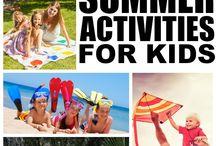 Aktiviteter med børn / Inspiration til hyggeaktiviteter, hvor der måske kan sættes faglige mål på