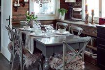 Keittiö-Ruokapöytä