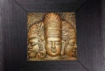 Traditional Wall Frames / We present you the never seen before sculptural wall frames collections inspired by indian heritage sites like Khajuraho, Ajanta Ellora, Elephanta caves and many more. Checkout www.artbugs.in for handpainted frames, calligraphy frames, beaded work etc...to decorate your walls.
