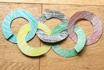 Jeux olympiques / Olympic Games / Voici des idées d'activités manuelles autour des JO! que ce soit les jeux olympiques d'été ou d'hiver