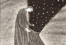 Il senso di ogni luce... / ... che si accende è nell'oscurità che la comprende.  Franco Facchini