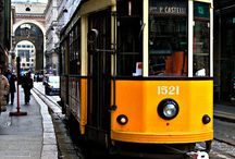 Tram & Places that I love / travel