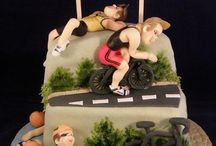 Atletic inspired cakes