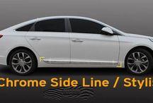 Sonata Ownwer Salon/2014-15 / Hyundai Sonata 2014 2015 Car Accessories Parts Chrome Molding Unique Stylish (LF)