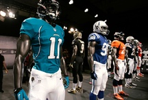 NFL uniform redesign / The National Football League and Nike unveiled their updated uniforms on Tuesday, April 3 in New York City, where several star players modeled the new gear. / by CBC Sports