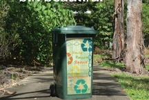 Recycling / We love to recycle at wheelie HQ  - use your wheelie bin to save the world!