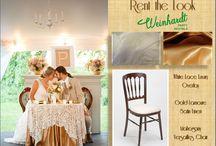 Rent the Look / By Weinhardt Party Rentals