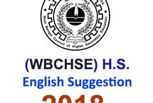 Higher Secondary 2018 English Suggestion প্রকাশিত হল SuggestionPedia থেকে।