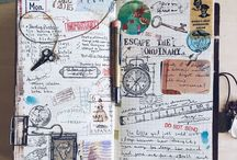 Journaling and traveling