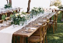 Dinner, Food, Hors d'Oeuvres and Tablescapes / by Cooper Carras Weddings