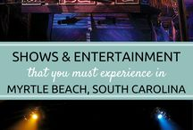 Myrtle Beach Shows and Entertainment / Experience the full spectrum of Myrtle Beach, South Carolina shows and local venues, including live theater, dinner shows, variety shows, concert halls, movie theaters, and much, much more! Myrtle Beach has something for everyone of all ages to enjoy!