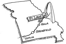 Missouri   ( The Show Me State ) HOME / by Sharon Bergner