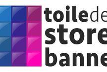 Nouveaux look / Suivez l'évolution du logo, du site et des tendances de toiledestorebanne.com