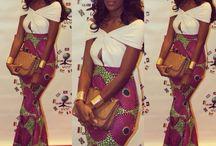 vestidos pano africano