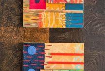 Wood Block collage