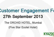 KyaZoonga.com: Register online for 1st Customer Engagement Forum.