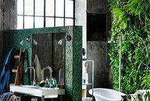 Bathroom./ Baños / by Ale Fella EcoMiscelaneas