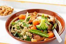 Couscous, Quinoa and Bulgur