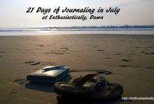 21 Days of Journaling (June, July, January and with Jesus)