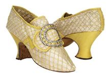 18th c. Shoes, hats, jewelry, etc.
